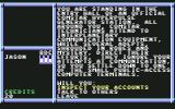 BattleTech: The Crescent Hawk's Inception Commodore 64 In the Comstar back