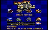 Wacky Wheels DOS Character selection (it's probably easier if you're below the age of twelve)