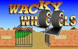 Wacky Wheels DOS The title screen