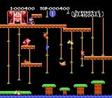 Donkey Kong Junior NES Stage 1