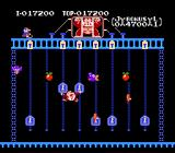 Donkey Kong Junior NES Stage 4