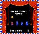 Super Mario Bros. 2 NES Please Select Player