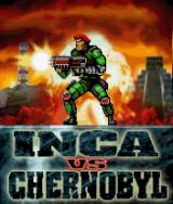 Inca vs Chernobyl J2ME Title screen
