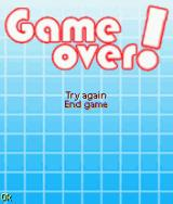 Clear Out J2ME General game over screen