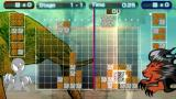 Lumines II PSP Vs. CPU mode stage 1-1