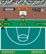 Action Basketball J2ME Three-pointer contest mini-game