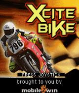 Xcite Bike J2ME Title screen