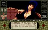 Elvira Amiga Elvira tells you the main quest.