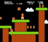 Super Mario Bros. NES Way off the ground