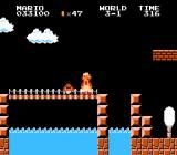 Super Mario Bros. NES Some levels take place at night.