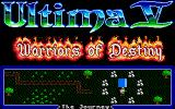 Ultima V: Warriors of Destiny Amiga The journey