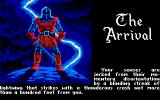 "Ultima V: Warriors of Destiny Amiga The arrival - ""...blinding streak of lightning..."""
