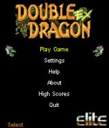 Double Dragon EX J2ME Main game screen
