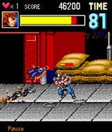 Double Dragon EX J2ME The second boss