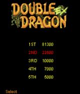 Double Dragon EX J2ME High scores