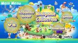 Ape Escape Academy PSP Main menu