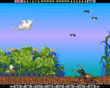 Apidya Amiga Scene 1 - Cricket and giant beetle