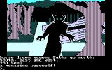Transylvania DOS Werewolf at the fork in the road! (CGA)