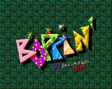 Boppin' Amiga Title screen