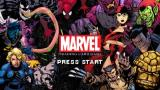 Marvel Trading Card Game PSP Title Screen