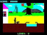 Wanted: Monty Mole ZX Spectrum Killed by the miner