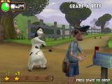 Barnyard Windows Teasing the mailman- don't let him catch you!