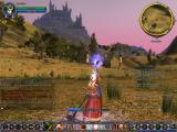 The Lord of the Rings Online: Shadows of Angmar Windows The effects seen while casting spells are well done.