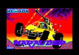 Marauder Amstrad CPC Title screen
