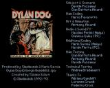 Dylan Dog: Through the Looking Glass Amiga Title screen and credits