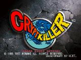 Crypt Killer SEGA Saturn The title screen.