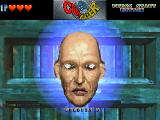 Crypt Killer SEGA Saturn This.. for the lack of a better word, dirtbag, pops up at the beginning and the end of every stage.