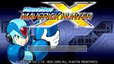 Mega Man Maverick Hunter X PSP Title screen