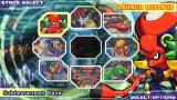 Mega Man: Maverick Hunter X PSP The stage select screen.
