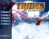 Tribes: Vengeance Windows Title screen