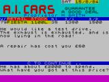 New Wheels John? ZX Spectrum Con-jobs aren't always advisable