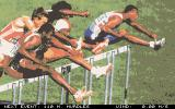 International Athletics DOS Digitized photos introduce each of the eight events.