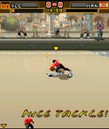Underground Street Soccer J2ME A perfect tackle