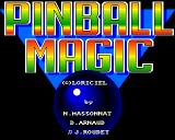 Pinball Magic Amiga Title screen