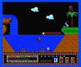 Livingstone, I Presume? MSX Hit with a coconut by the monkey (MSX 2 version)