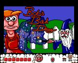 Bob's Bad Day Amiga Another title screen