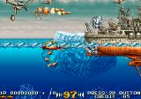 In the Hunt SEGA Saturn The large ships look awesome, and can be destroyed in chunks.