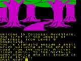 Jewels of Darkness ZX Spectrum Game start