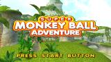 Super Monkey Ball Adventure PSP Title screen