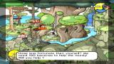 Super Monkey Ball Adventure PSP Level map – it shows the location of all NPCs and what quest they give to you.