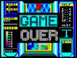 Tetris ZX Spectrum Game over [Spectrum 128]