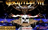 Gauntlet III: The Final Quest Amiga Title screen