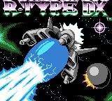 R-Type DX Game Boy Color Title screen