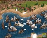 Cossacks: European Wars Windows English navy and land troops are fighting back the attack of Turkish vessels.