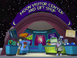 Sam & Max Episode 6: Bright Side of the Moon Windows The moon visitor center, with a familiar attendant