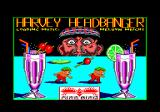 Harvey Headbanger Amstrad CPC Title screen